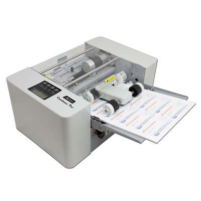 Akiles cardmac pro business card cutting machine online skyline akiles cardmac pro electric automatic business card slitter reheart Images