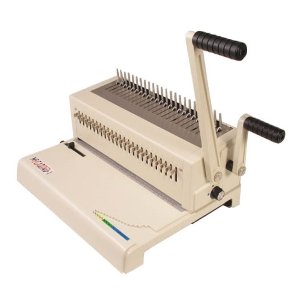 Akiles MegaBind-1 Legal Size Manual Plastic Comb Punch