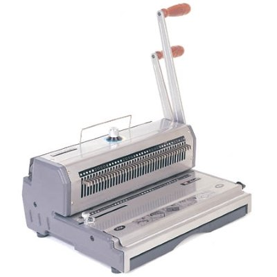 GBC W-400 Wirebind punch & bind machine
