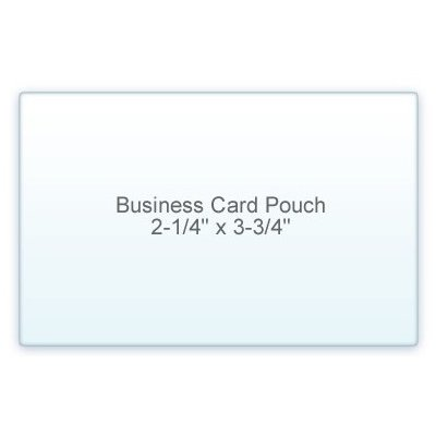 7 Mil Business Card Size (2-1/4