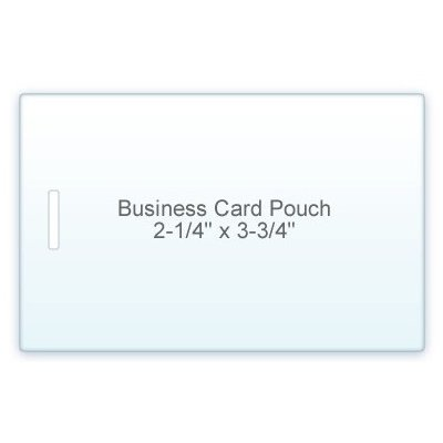 5 Mil Business Card Size (2-1/4