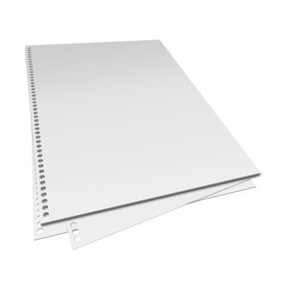 CoilBind Pre-Punched 44 Hole Paper 5000 Sheets, 20# White