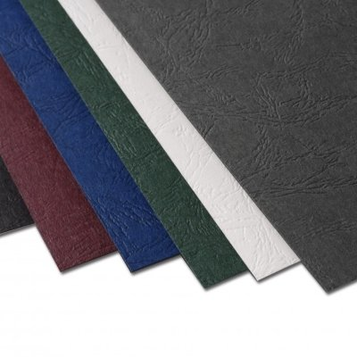Embossed Leatherette Paper Covers 8 3/4