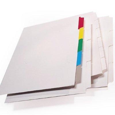 how to make folder dividers