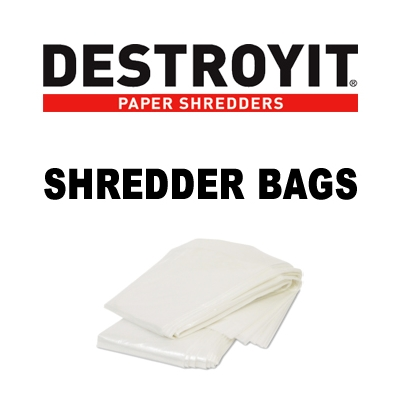 MBM 907 Shredder Bags - Case