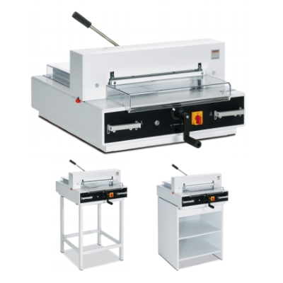 MBM Triumph 4315 Semi-Automatic Cutter with Digital Display, 16 7/8