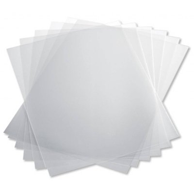 8 1 2 Quot X 11 Quot Frosted Plastic Presentation Covers Heavy
