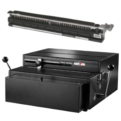 Rhin-O-Tuff HD-7000 Deluxe Heavy Duty Paper Punch with Die Main Image