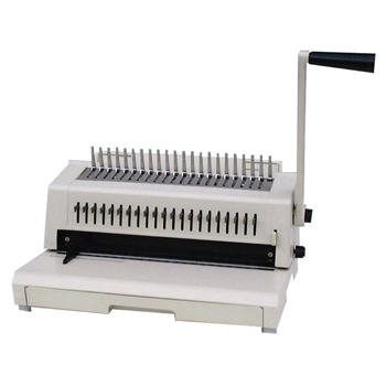Tamerica 213PB Combo Comb Bind, Spiral-O Wire & 3 Hole Punch Machine